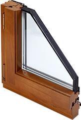 Деревянные окна с поворотно-откидным открыванием